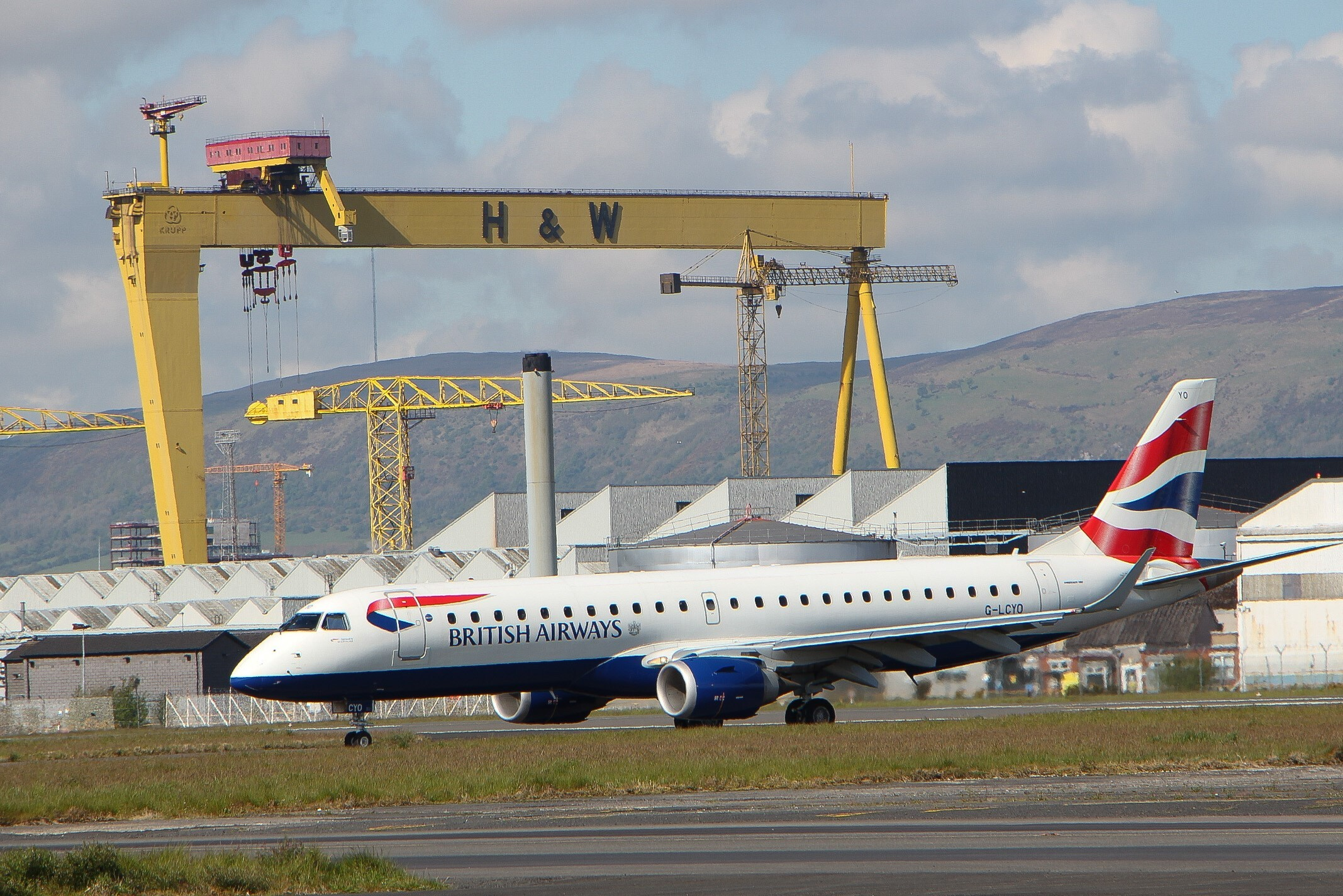 British Airways has extended its operations from Belfast City Airport this winter and added a new route to Birmingham